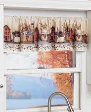Yellow And Gray Kitchen Curtains by Kitchen Window Valance Ebay