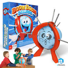 New Boom Balloon Board Game