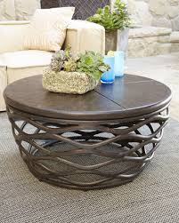 Coffee Table Outdoor Round Furniture Cocktail Tables Inspiring