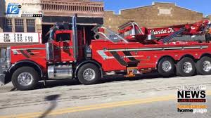 100 Santa Fe Truck Joplinbased Tow Truck Driver Killed On I44 This Week Is Laid To Rest
