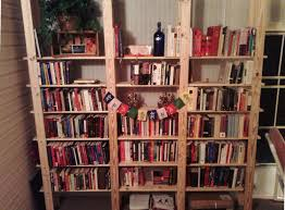 cheap easy low waste bookshelf plans 5 steps with pictures