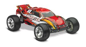 100 Stadium Truck Rustler 110 Red RTR WiD Battery 4 Amp Peak DC