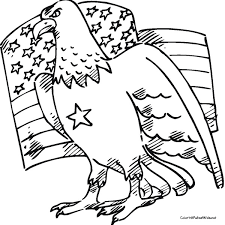 American Eagle Coloring Page