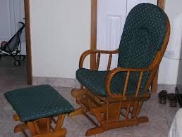Rocking Chair Cushion Sets Uk gliding rocking chair cushion covers nursery glider room cushions