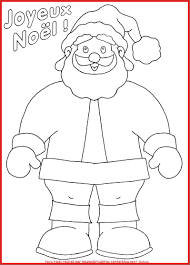 Pere Noel Traineau A Colorier With Coloriage Pere Noel A Imprimer