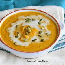 Spicy Pumpkin Butternut Squash Soup by Vegan Curried Butternut Squash Soup Glutenfree Recipe Vegan Richa