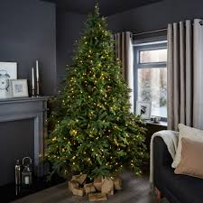 7ft Pre Lit Christmas Tree Tesco by Pre Lit Christmas Trees B U0026q Home Design Inspirations