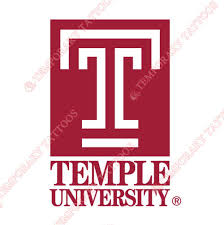 Temple Owls Customize Temporary Tattoos Stickers NO6438