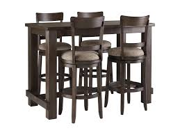Drewing Five Piece Chair & Pub Table Set Bemkenswert Pub Style Table Height Chairs Extenders Stools Glacier With 4 Post Mission Swivel Bar Units And Tables Set 19 Small Upholstered By New Classic At Lapeer Fniture Mattress Center Cramco Trading Company Starling 3 Piece Pinnadel Counter Stool Ashley Homestore Details About Round Natural Wood Top Bistro Kitchen Ding S2a4 Muskoka Swivel Balcony Chairs 499 Cottage D White Folding And Chair Dinette With Replace Rv Sets Homesfeed