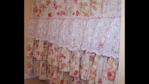 Simply Shabby Chic Curtains White by Curtains Shabby Chic Shower Curtain Hooks Shabby Chic Floral