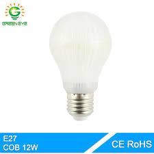 greeneye korea 120leds cob chip whole bright led bulb e27 12w