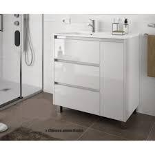 badmöbel set badezimmer möbel schrank 85 cm weiss farbe mit waschtisch mit türen und schubladen