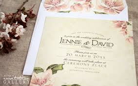 Western Cape Wedding Invitations