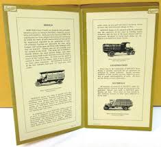 100 Used Service Trucks 19161917 Dealer Sales Brochure WEmbossed