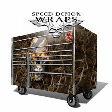 100 Snap On Truck Tool Box SNAP ON TOOL BOX GRAPHICS WRAP KIT FALLOUT CAMOUFLAGE Speed Demon