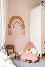 diy regenbogen wanddeko wanddeko kinderzimmer ideen zum