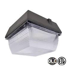 axis led lighting 60 watt bronze led outdoor canopy light