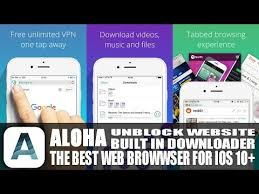 The Best Browser App For iPhone iPad iOS 10 With Built In VPN