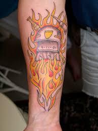 Firefighter Tattoos Designs