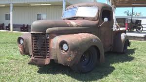 100 1946 International Truck Rat Rod Pickup Redneck Rumble Spring