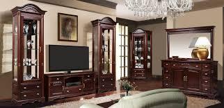 vintage wohnzimmermöbel aus massivholz eiche mahagoni farbe