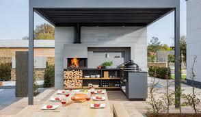 freiluftküche bilder der modularen outdoor küche