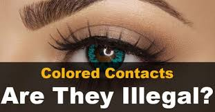 Halloween Contacts Non Prescription Fda Approved by Are Colored Contacts Illegal Camoeyes Com