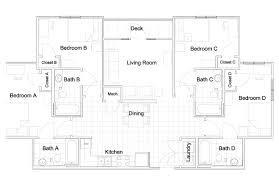Retail Architecture Modern Apartment Blueprints Furniture
