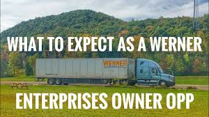 100 Werner Trucking Phone Number What To Expect As A Enterprises Owner Operator YouTube