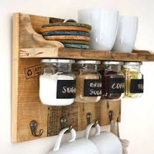 Rustic Kitchen Cabinet Wood Pallet Free On Craigslist Decorative Hooks Jars With Metal Lids Screws