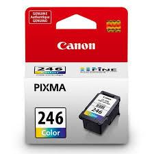 Canon 8281B004 CL 246 Tri Color Inkjet Print Cartridge