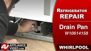 Whirlpool Refrigerator Leaking Water On Floor by Whirlpool 33 U2033 Side By Side Refrigerator U2013 Wrs322fdam Appliance Video
