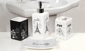 paris themed bathroom accessories cepatoikilafe com