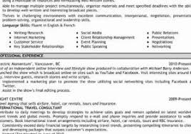 Wedding Planner Resume From The Best Way To Write Banking Examples Visit Reads