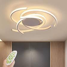 led deckenleuchte dimmbar wohnzimmer le 72 w modern mit fernbedienung schick metall acryl deckenleuchte kronleuchter für schlafzimmer
