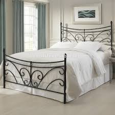 New Style Bedroom Design Double Designs Iron Category With Post Charming Bed