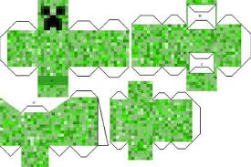 Minecraft Creepers Papercraft Mutant Creeper Mod 9