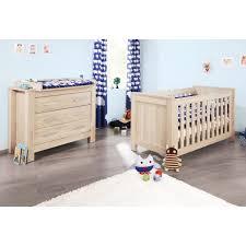chambre bébé bois chambre bébé carusd décor chêne lit bébé comm achat vente