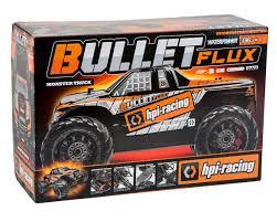 HPI Bullet MT Flux RTR 1/10 Scale 4WD Electric Monster Truck ...