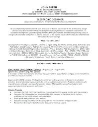 Sample Resume Objective For Manufacturing Job Of Engineer