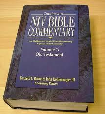Zondervan NIV Bible Commentary Vol 1 Old Testament