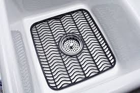 Rubbermaid Sink Mats Black by Amazon Com Rubbermaid Antimicrobial Sink Protector Mat Black