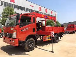 China Sinotruk Small 6 Wheels Boom Truck Mounted Crane Price - China ...