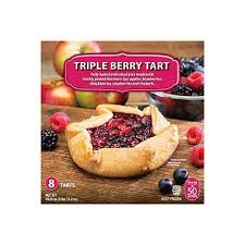Daily Chef Rustic Triple Berry Tart 8 Ct