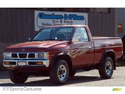100 1995 Nissan Truck Hardbody XE Regular Cab 4x4 In Cherry Red Pearl