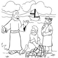 Coloring Page Of Jesus Calling His Disciples Archives He Appeared Clipart