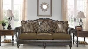 Claremore Sofa And Loveseat by Glynallen Teak By Ashley Furniture Youtube