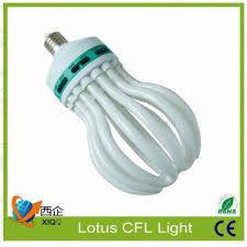 high power 200w 240w 300w cfl energy saving light 8u lotusn flower