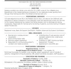 Nurse Resume Sample Combined With Nurses Pediatric Download Family Practitioner