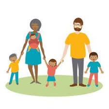 Mixed Family Clip Art